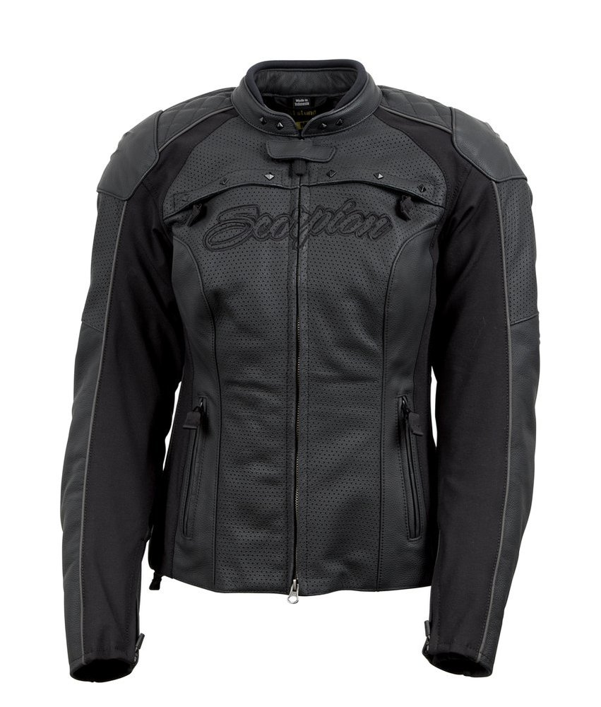 Leather jacket discount