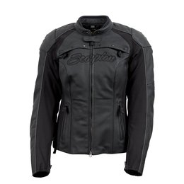 Black Scorpion Womens Vixen Leather Jacket 2014