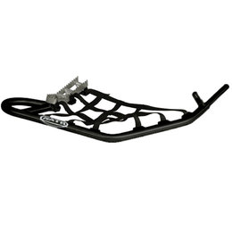Glossy Black Rath Racing Nerf Bar With Race Peg Gloss Bk For Polaris Outlaw
