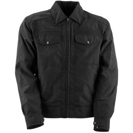 Black Brand Mens Street Team Armored Textile Jacket Grey