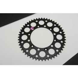 Renthal Rear Sprocket 48T Black For Kawasaki KDX KX KLX For Suzuki RMZ