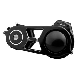 Belt Drives 2 Inch Open Belt Drive Kit Harley-Davidson FLT FLH Black EVO-13B-2B Black