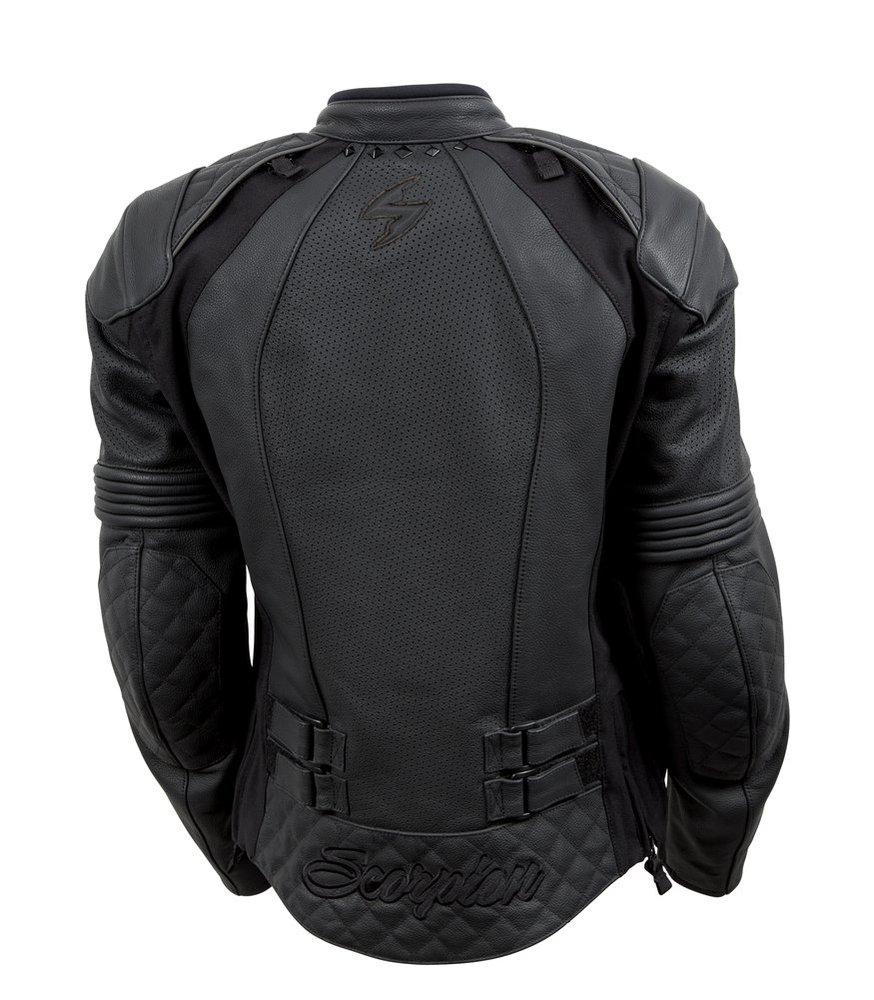 Leather jacket sale womens -  Black Scorpion Womens Vixen Leather Jacket 2014