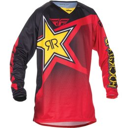 Fly Racing Mens Kinetic Rockstar Jersey Red