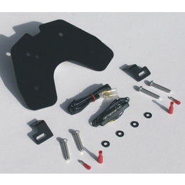 Black Targa Fender Eliminator Kit For Suzuki Gsx-r1000 09-11
