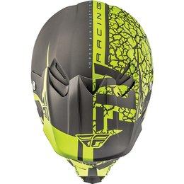Fly Racing F2 Carbon Fracture Helmet Grey