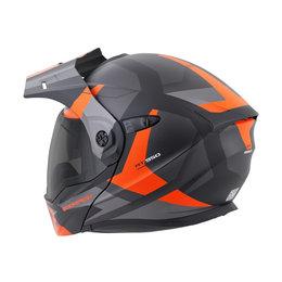 Scorpion EXO-AT950 EXOAT 950 NeoCon Modular Dual Sport Adventure Helmet Orange