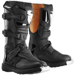 Thor Youth Boys Blitz CE Certified Boots With MX Soles Black