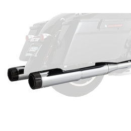 Vance & Hines Hi-Output Carbon Slip-On Dual Exhaust For Harley-Davidson Touring
