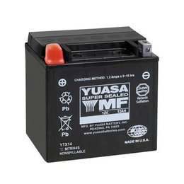 Yuasa High Performance Maintenance Free Battery YTX20HL-BS-PW Unpainted