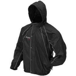Black Frogg Toggs Horny Toads Rain Jacket Nht65115-01sm