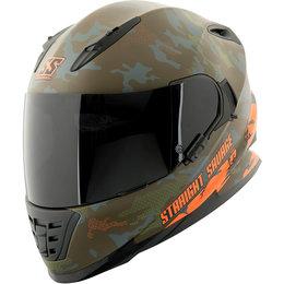Speed & Strength Straight Savage SS1600 Full Face Helmet Orange