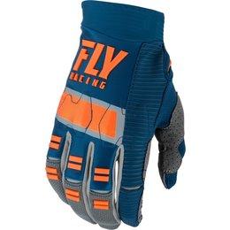 Fly Racing Mens Evolution DST Gloves Blue