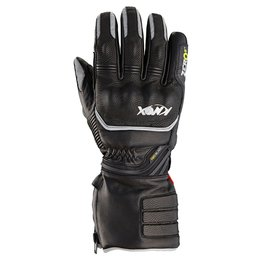 Black Knox Mens Hand Armour Zero 2 Leather Gloves 2014