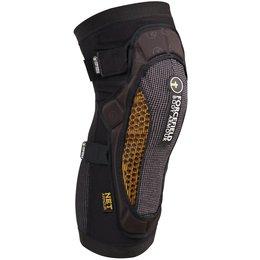Forcefield Grid Slip-On Knee Protector Each Black