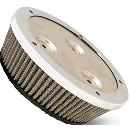 Stainless Steel Arlen Ness Big Billet Sucker Stage I Air Filter Ss For Harley Flt Twin Cam Fi