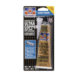 Permatex Ultra Copper Maximum Temperature RTV Silicone Gasket Maker 81878