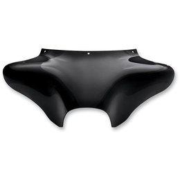 Memphis Shades Batwing Fairing Black For Harley FXD FXST FXWG