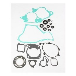 N/a Moose Racing Complete Gasket Kit With Oil Seal For Honda Cr-80r 86-91