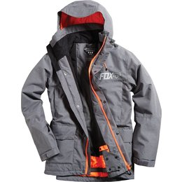 Fox Racing Mens Sanction Hooded Insulated Jacket