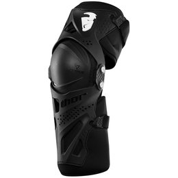 Thor Force XP Motocross – MX Adult Knee Guard Pair Black