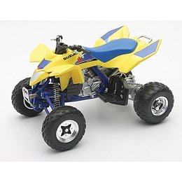 New Ray Toys Suzuki Quadracer LTR450 ATV Toy 1:12 Scale Yellow 43393