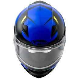 GMAX FF49 FF-49 Berg Snowmobile Helmet With Dual Pane Shield Blue
