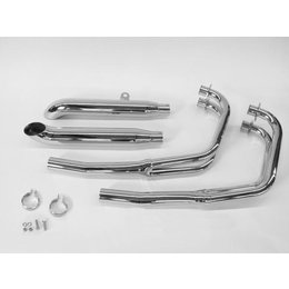 MAC 4:2 Dual Exhaust System W/ Turn Out Mufflers Chrome For Suz GS1000E/G/GL/S