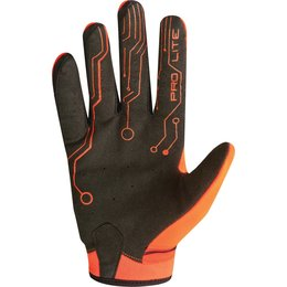 Fluorescent Orange, Black Fly Racing Mens Pro Lite Gloves 2015 Fluorescent Orange Black