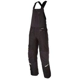 Klim Mens Keweenaw Gore-Tex Insulated Textile Snowmobile Bibs Black