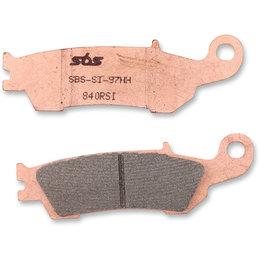 SBS Sinter Brake Front Pads Single Set Yamaha YZ125 250 250F 450F 840RSI-PU Unpainted