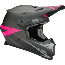 Thor Youth Sector Hype Matte Helmet Grey