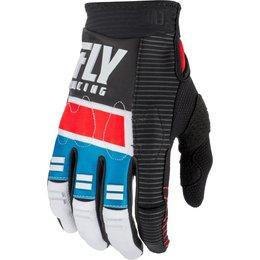 Fly Racing Mens Evolution DST Gloves Red