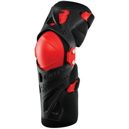 Thor Force XP Motocross – MX Adult Knee Guard Pair Red