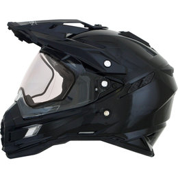 AFX FX41 Solid Snowmobile DS Dual Sport Helmet Black