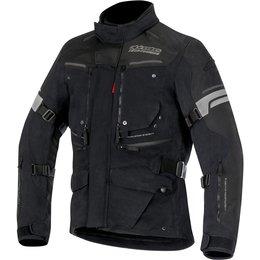 Alpinestars Mens Valparaiso 2 Drystar Lined Armored Textile Riding Jacket Black