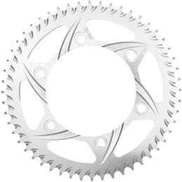 Vortex Silver 41 Tooth 530 Rear Aluminum Sprocket For Kawasaki Silver 427-41 Silver