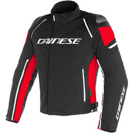 Dainese Mens Racing 3 D-Dry Armored Textile Jacket Black