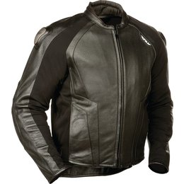 Fly Racing Mens Apex Leather Jacket Black