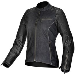 Alpinestars Womens Stella Renee Armored Leather Textile Jacket Black