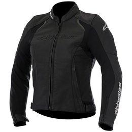 Alpinestars Womens Stella Devon Airflow Armored Leather Jacket Black