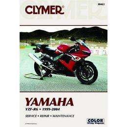 Clymer Repair Manual For Yamaha YZF-R6 R-6 99-04