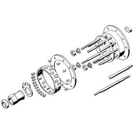 Barnett Clutch Hub Liner For Harley Big Twin 41-E84