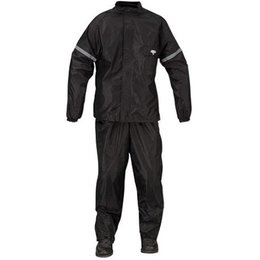 Black Nelson-rigg Wp-8000 Weatherpro Two Piece Rainsuit