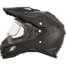 AFX FX41 Solid Snowmobile DS Dual Sport Helmet Black