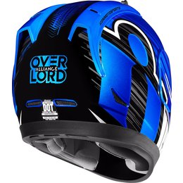 Icon Alliance Overlord Full Face Helmet Blue