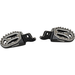 Moose Racing Qualifier Footpegs Pair Kawasaki KX250F KX450F Black 1620-1730 Black