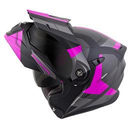 Scorpion EXO-AT950 EXOAT 950 NeoCon Modular Dual Sport Adventure Helmet Pink