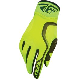 Hi-vis, Black Fly Racing Mens Pro Lite Gloves 2015 Hi-vis Black