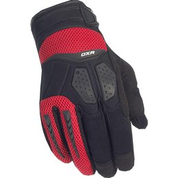 Cortech Mens DXR Gloves Red